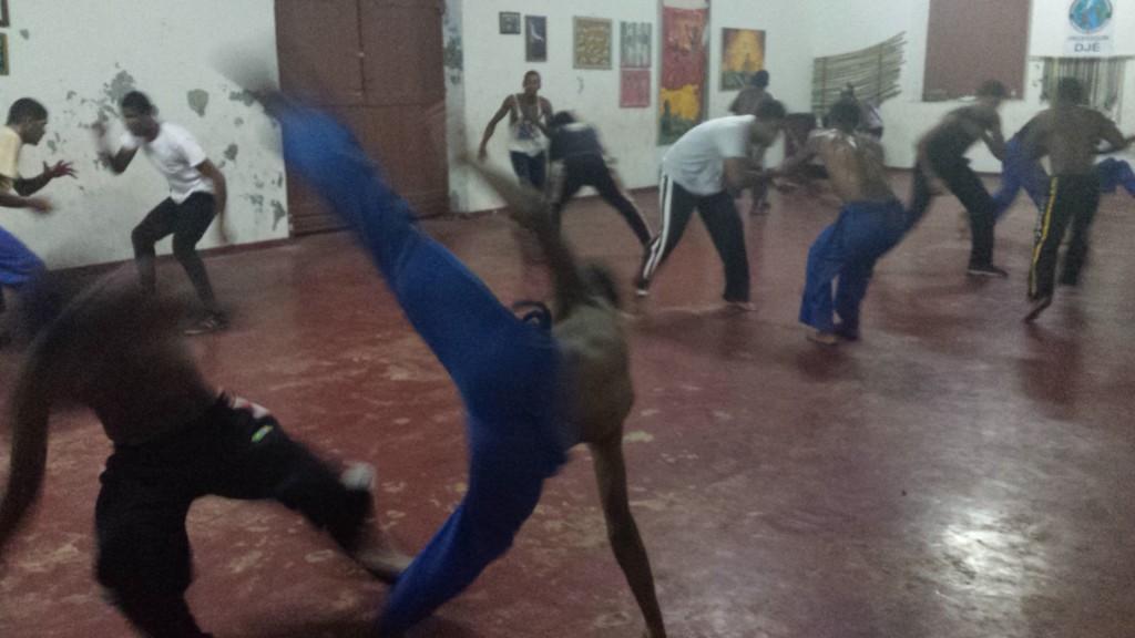 Trening capoeiry