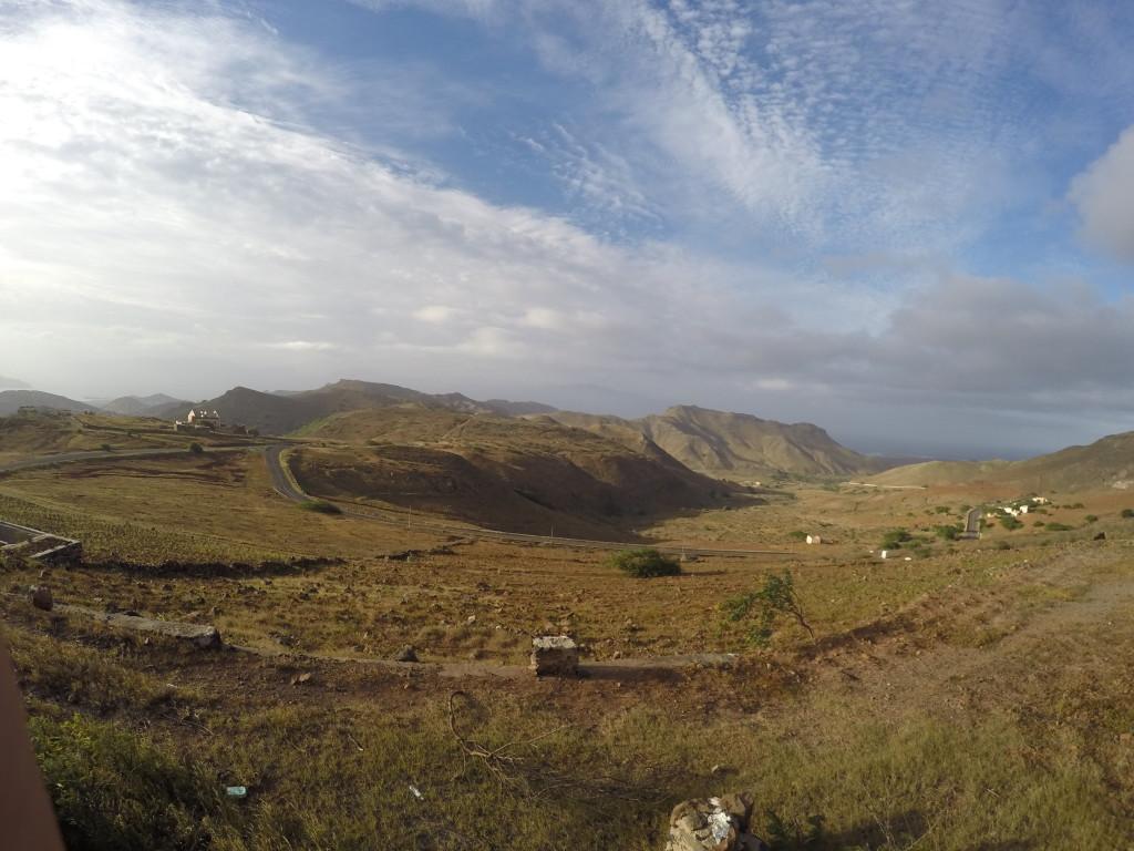 Panorama w centralnej części wyspy