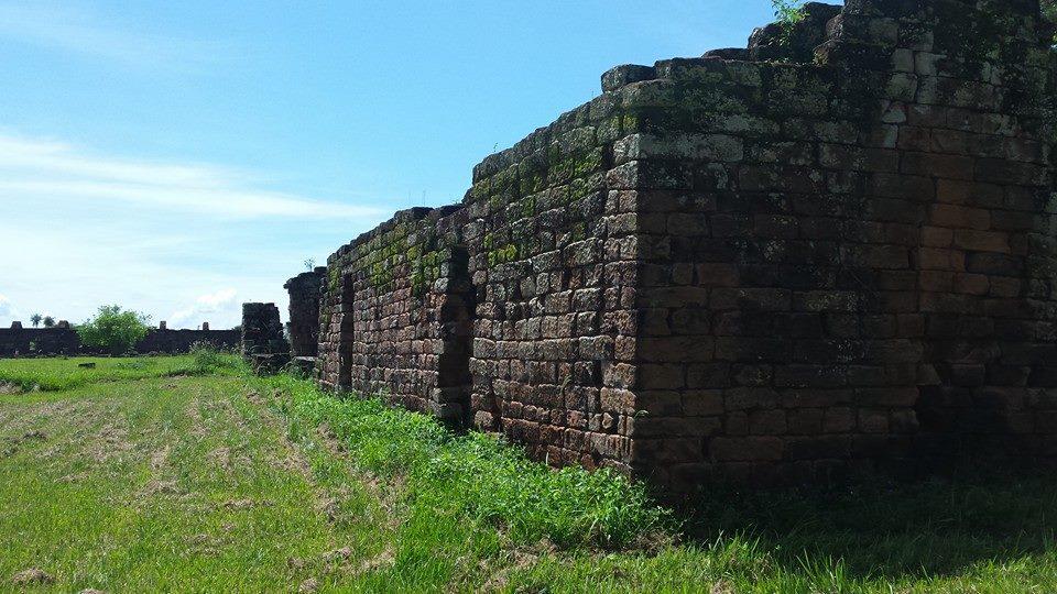 Ruiny klasztoru Jezuitów w Trynidadzie