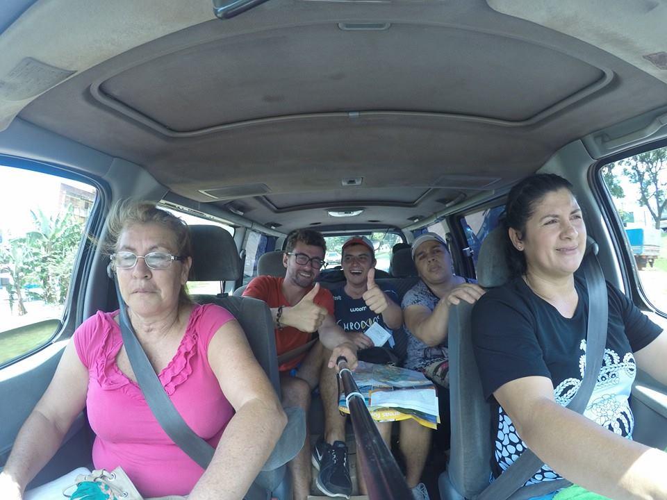 Pierwszy autostop w Paragwaju!