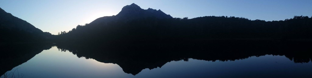 Hidden Lake - ukryte jezioro.
