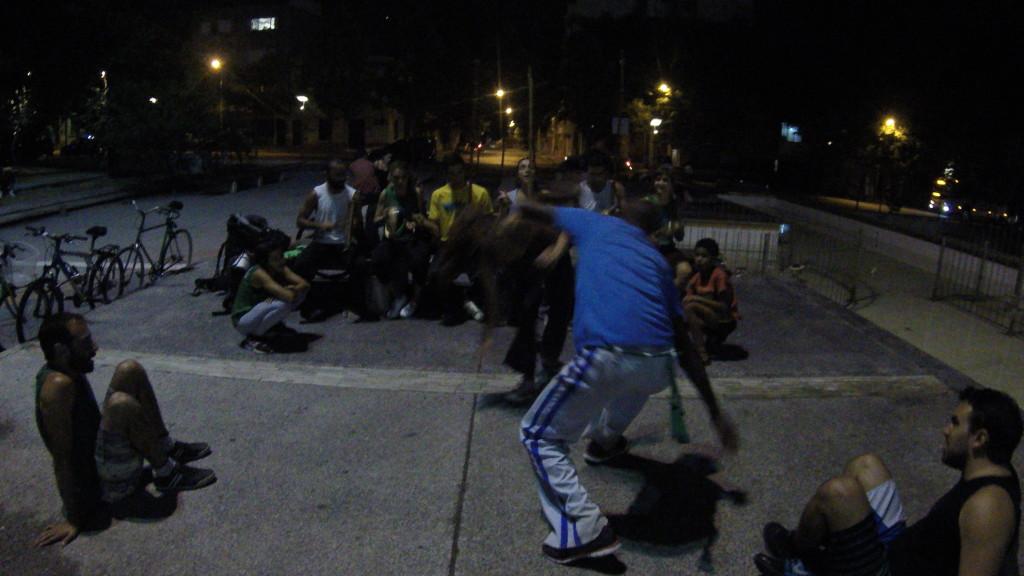 Trening capoeiry :)