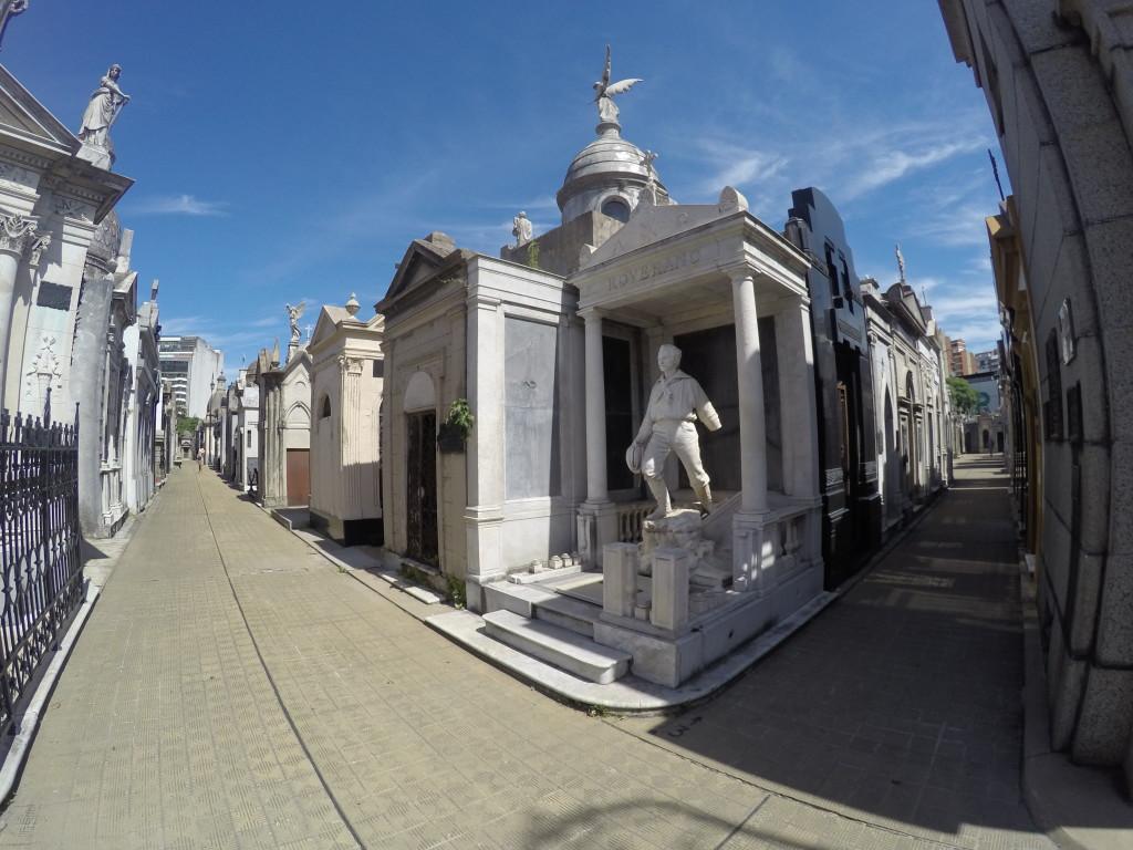 Cmentarz de la Recoleta. Spokojnie jeszcze się nie wybieram :)