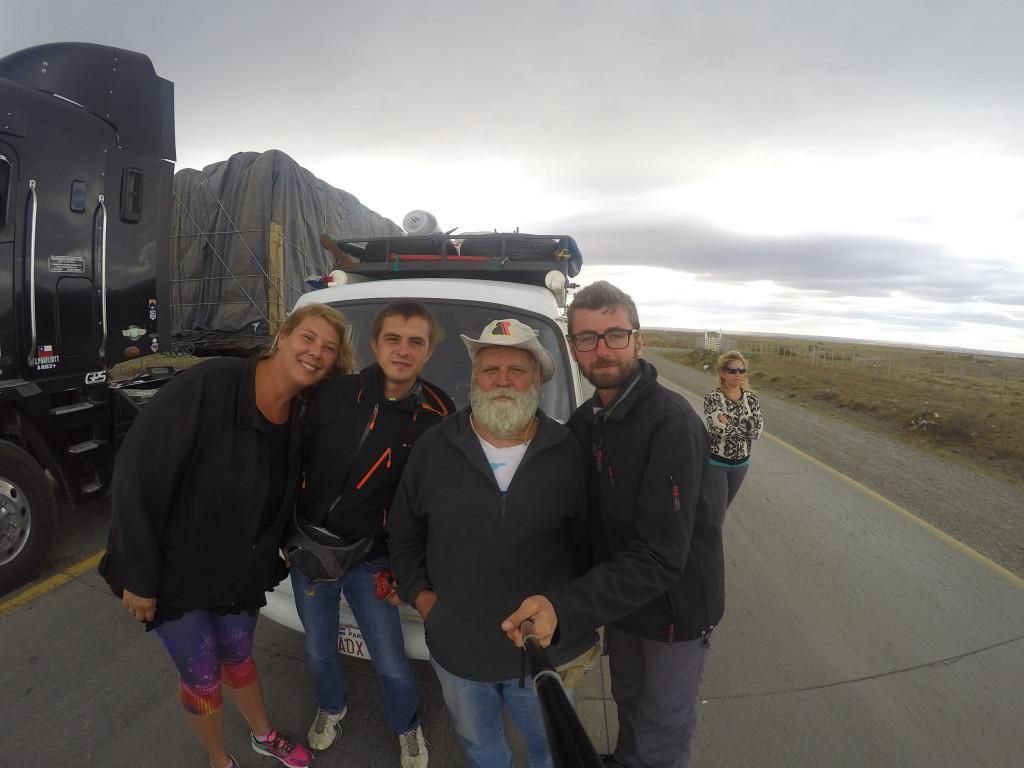 66-cio letni kierowca w dziesięcioletniej podróży dookoła świata.
