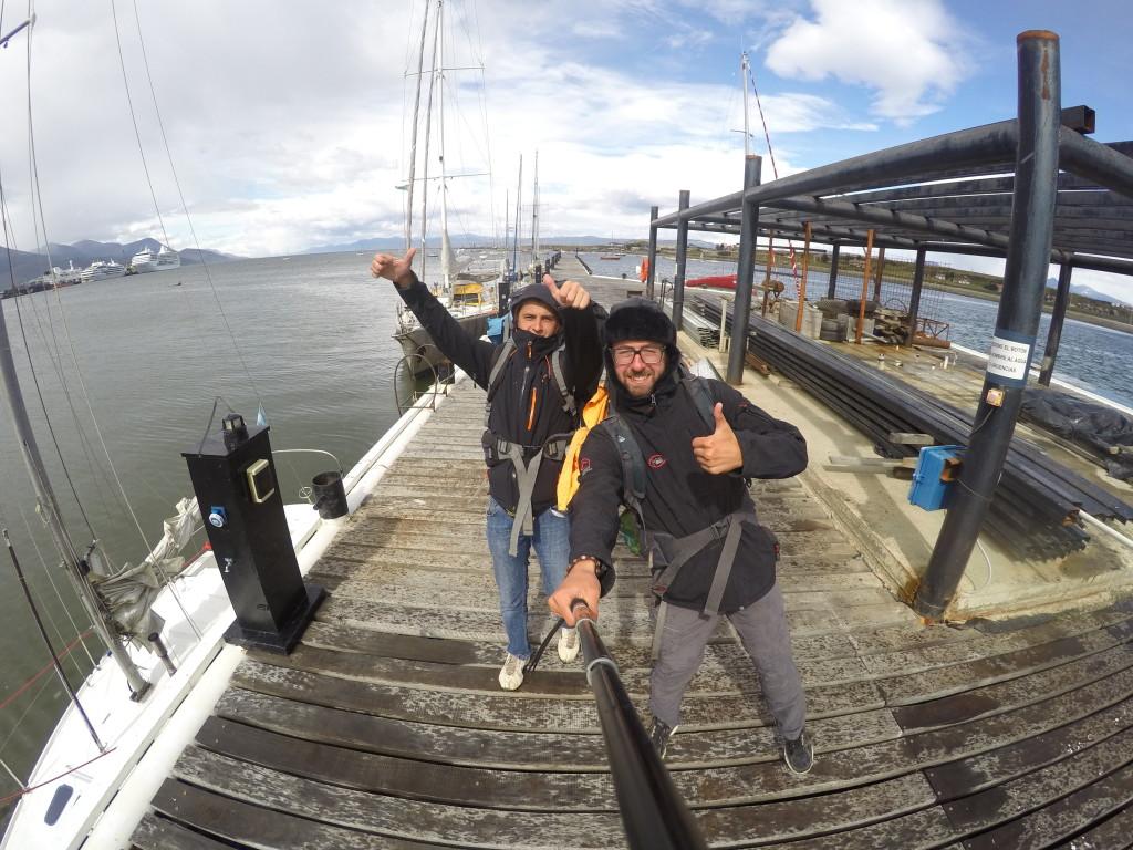 W poszukiwaniu jachtostopu na Antarktydę.