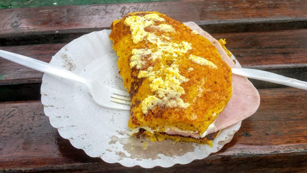 Cachapa - tradycyjna wenezuelska potrawa